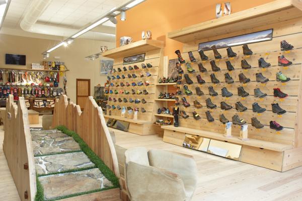 calzature e area outlet